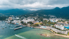 The new desalination plant will be located in Tseung Kwan O, a bay in the Sai Kung district, New Territories, Hong Kong